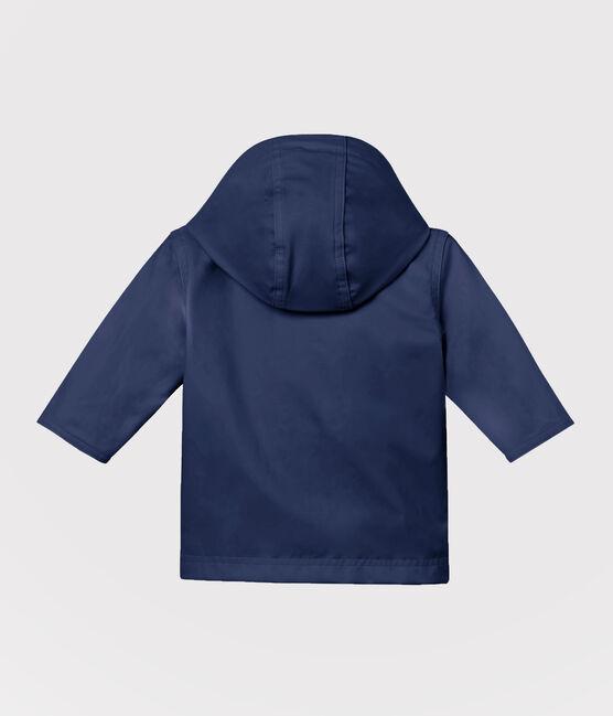 Chubasquero emblemático para bebé unisex azul Smoking