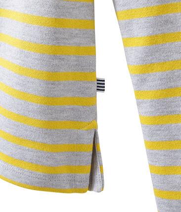 Marinera icónica gris Poussiere / amarillo Ble