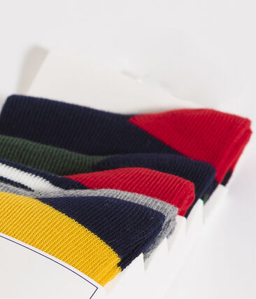 Lote de 5 pares de calcetines infantiles para niño lote .