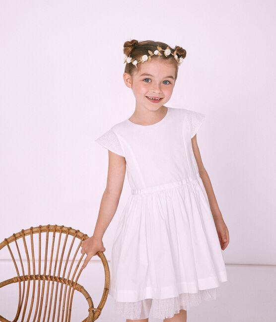 Corona de flores bebé niña marrón Dore Brillant