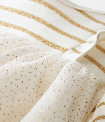 Vestido en tull para bebé niña