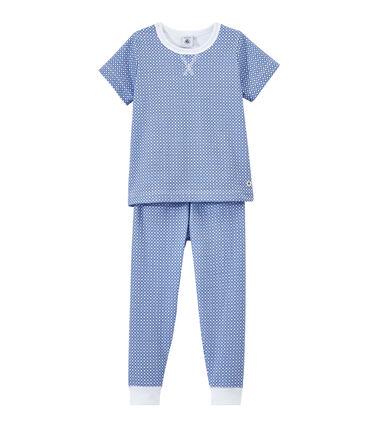 Pijama de manga corta en túbico para niño