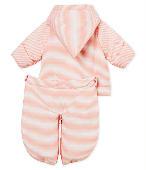 Nono piloto 3 en 1 para bebé unisex rosa Rosako / blanco Marshmallow