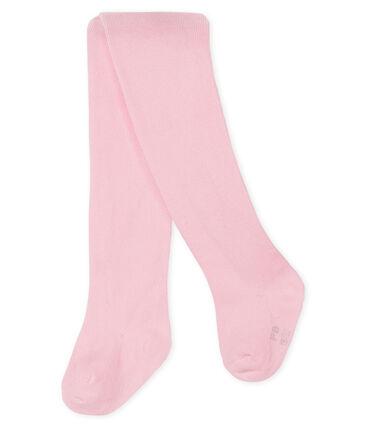 Leotardos bebé niña rosa Vienne