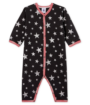 Pijama sin pies de punto para bebé niño gris Capecod / gris Argent