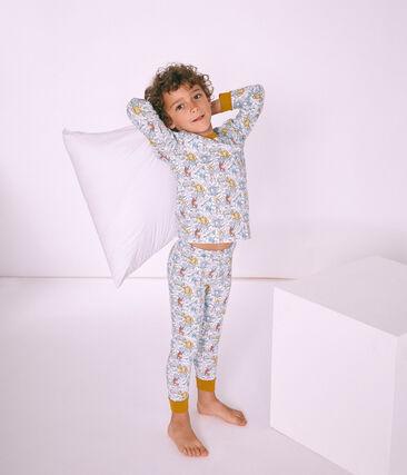 Pijama de algodón infantil para niño