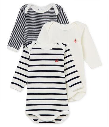 Tres bodis manga larga para bebé unisex