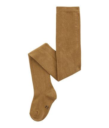 Leotardos en jersey marrón Brindille