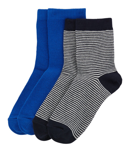 Lote de 2 pares de calcetines para niño lote .