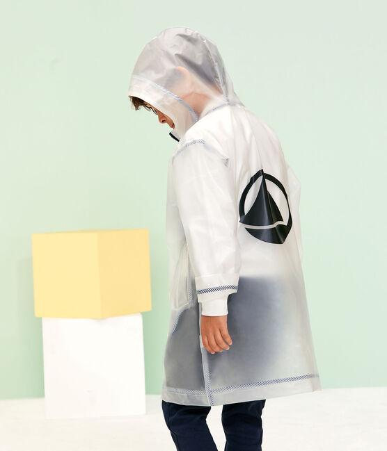 Chubasquero transparente para niño unisex azul Transparent