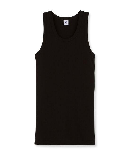 Camiseta de tirantes icónica para mujer negro Noir