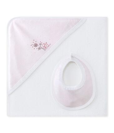 Cajita capa de baño bebé niña