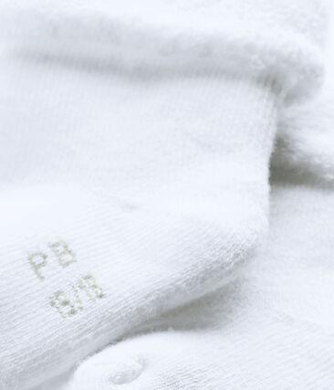 calcetines para bebé de rizo