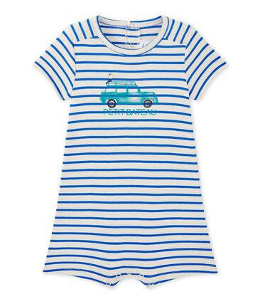 Pelele corto marinero de bebé niño