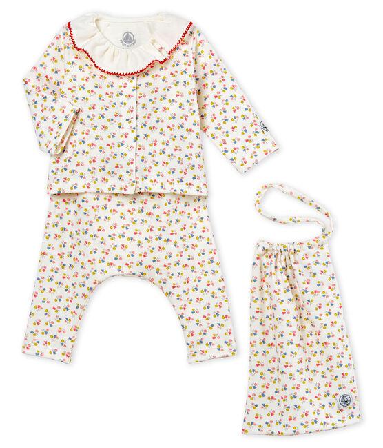 Conjunto 4 piezas estampado para bebé niña lote .