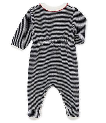 Pijama para bebé niña con las icónicas rayas
