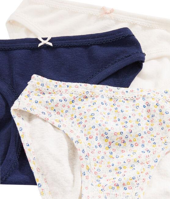 Tres braguitas de lino/algodón para niña lote .