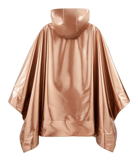 Poncho de lluvia reversible para mujer rosa Copper