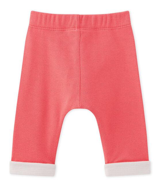 Pantalón reversible para bebé niño rosa Gloss