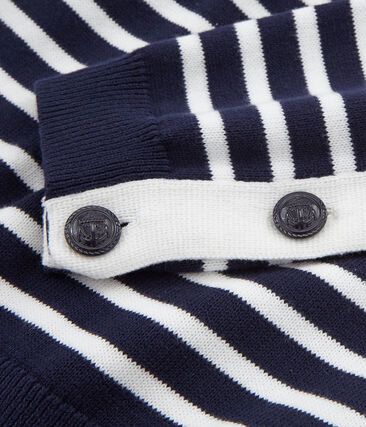 Jersey azul marino para mujer