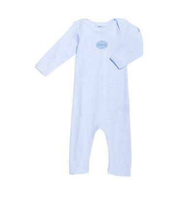 Body largo milrayas para bebé niño azul Fraicheur / blanco Ecume