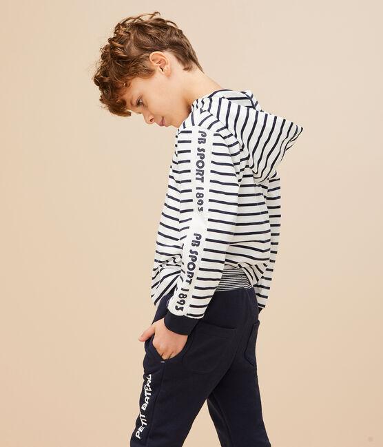 Pantalón deportivo para niño azul Smoking