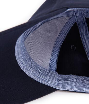 Gorra infantil unisex azul Smoking