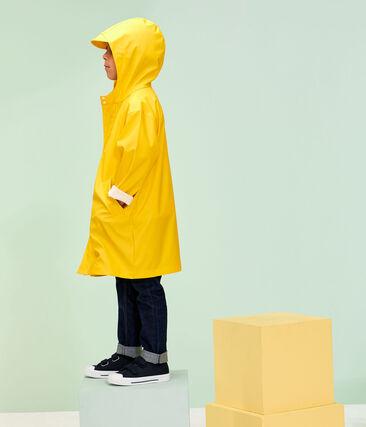 Chubasquero para niño y niña amarillo Jaune