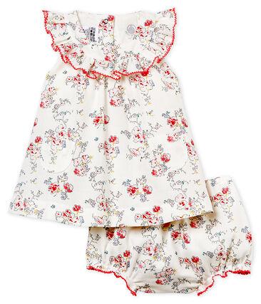 Vestido estampado y bloomer para bebé niña