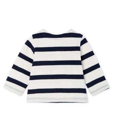 Cárdigan de rayas marineras para bebé niña