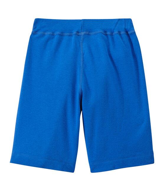 Short niño azul Perse