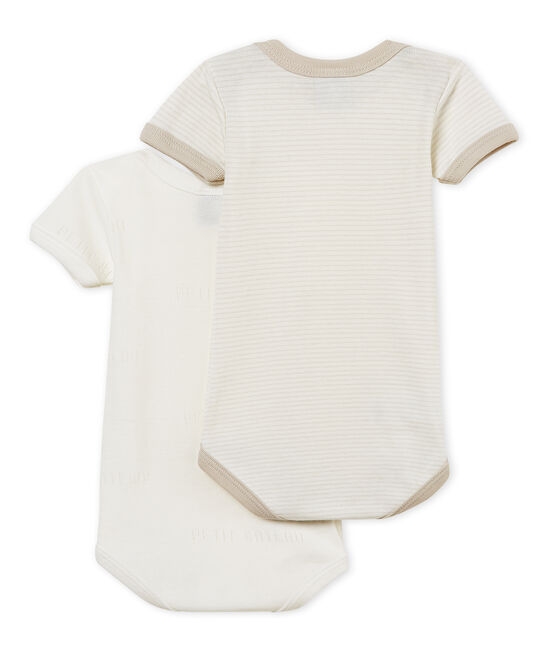 Par de bodis manga corta para bebé niño lote .