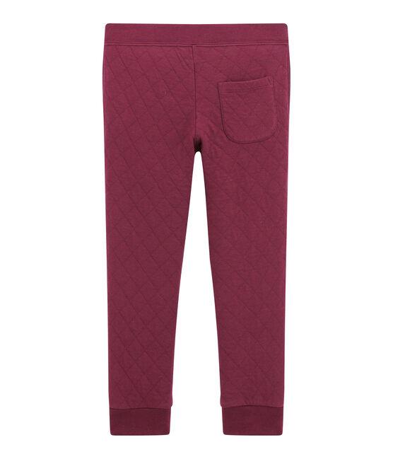 Pantalón para niño en túbico acolchado rojo Ogre