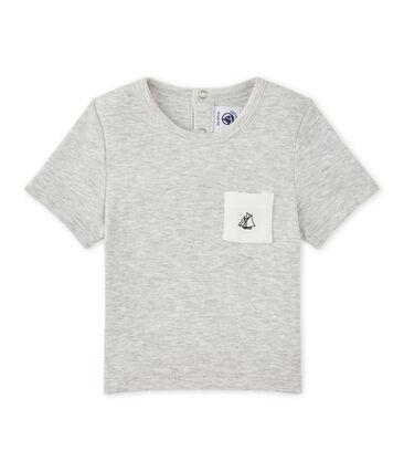 Camiseta bebé niño liso
