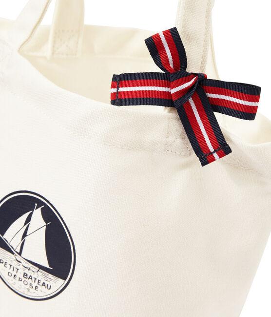 Bolsa de tela para niña blanco Marshmallow
