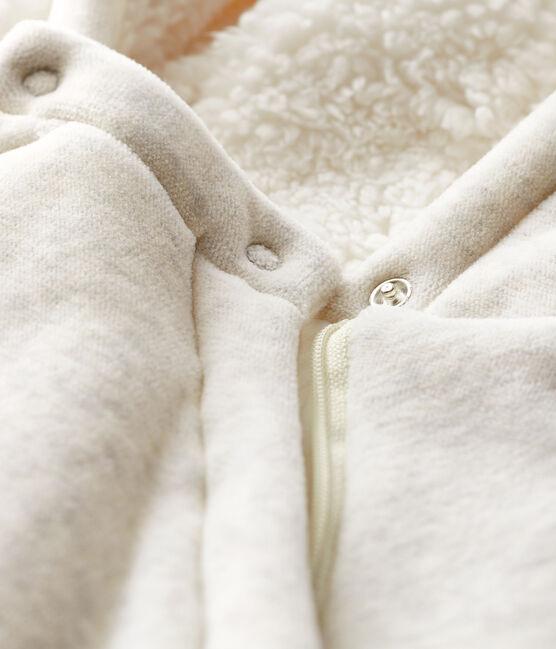 Juego de cama con estampado de jungla de popelina gris Montelimar Chine