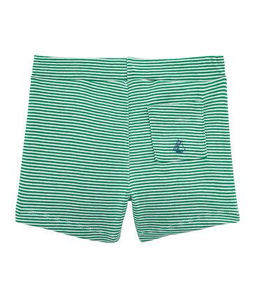 Pantalones cortos de rayas para bebé niño