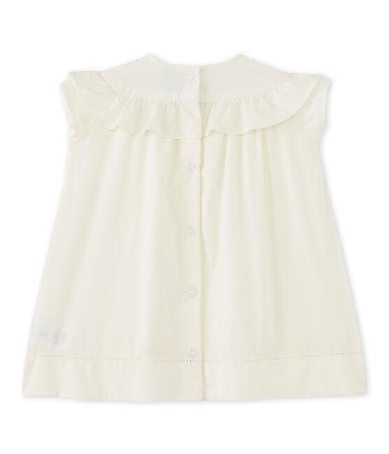 Vestido de cerimonía bebé niña blanco Lait