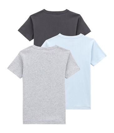 Pack de 3 camisetas de manga corta para niño lote .
