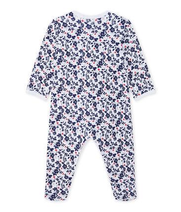 Pijama estampado para bebé niña