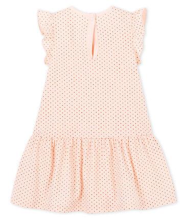 Vestido sin mangas para bebé niña de punto rosa Fleur / rosa Copper