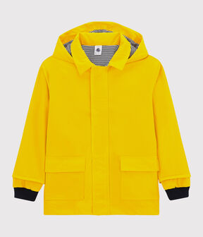 Impermeable emblemático para niña/niño amarillo Jaune