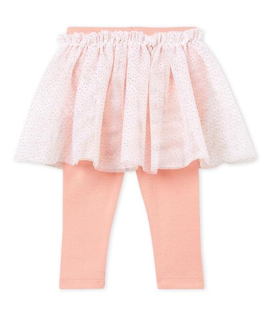 Falda leggings para bebé niña blanco Marshmallow Cn
