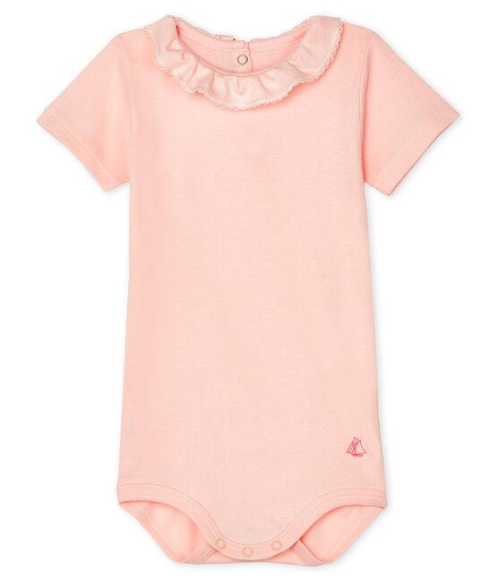 Bodi para bebé niña con collarín MINOIS