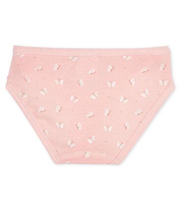 Braguita para niña rosa Minois / blanco Marshmallow