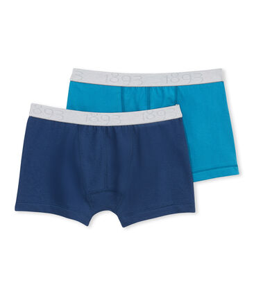 Set of 2 boy's Lycra jersey boxers - Previous collection lote .