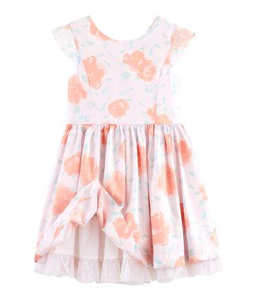 Vestido de ceremonia de niña rosa Vienne / blanco Multico