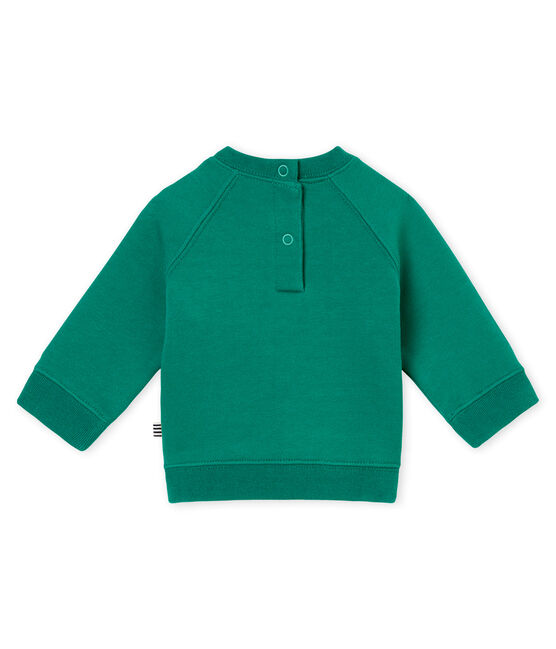 Sudadera para bebé niño verde Pivert