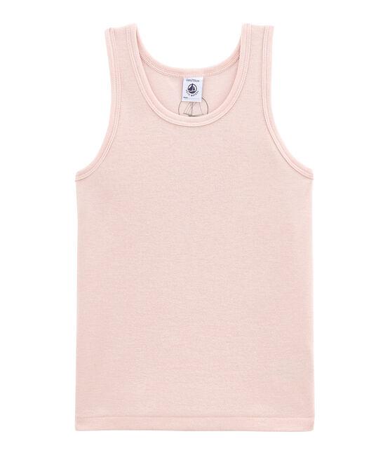 Camiseta sin mangas en lana y algodón JOLI