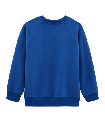 Sudadera de niño azul Limoges